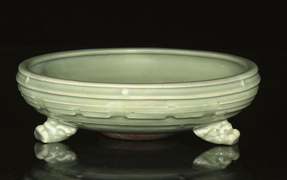 A longquan celadon tripod cens