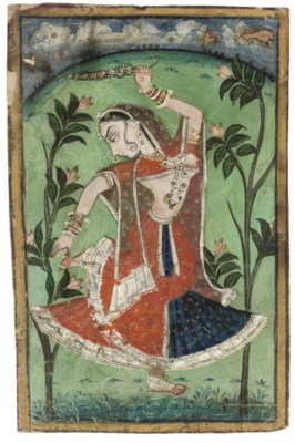 YOUNG WOMAN PLUCKING A THORN F