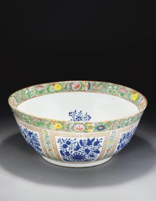 A CANTONESE EXPORT WARE FAMILL