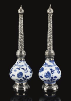 A MATCHED PAIR OF KANGXI (1662