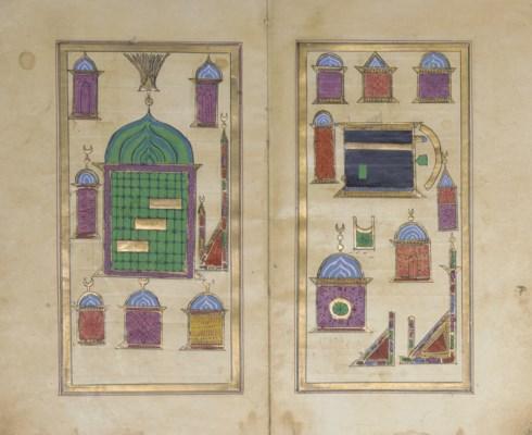 TWO OTTOMAN PRAYERBOOKS, TURKE