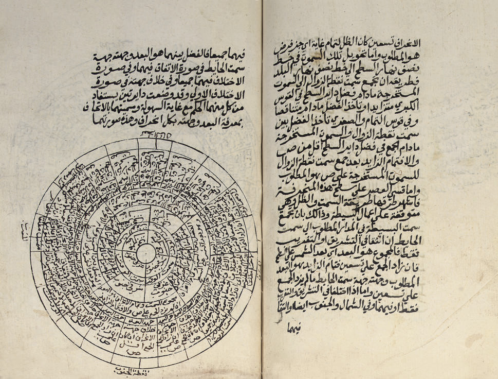 TWO MANUSCRIPTS ON ASTRONOMY,