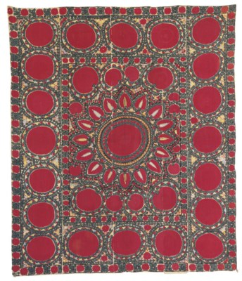 A SUSANI DOWRY MARRIAGE BED CO