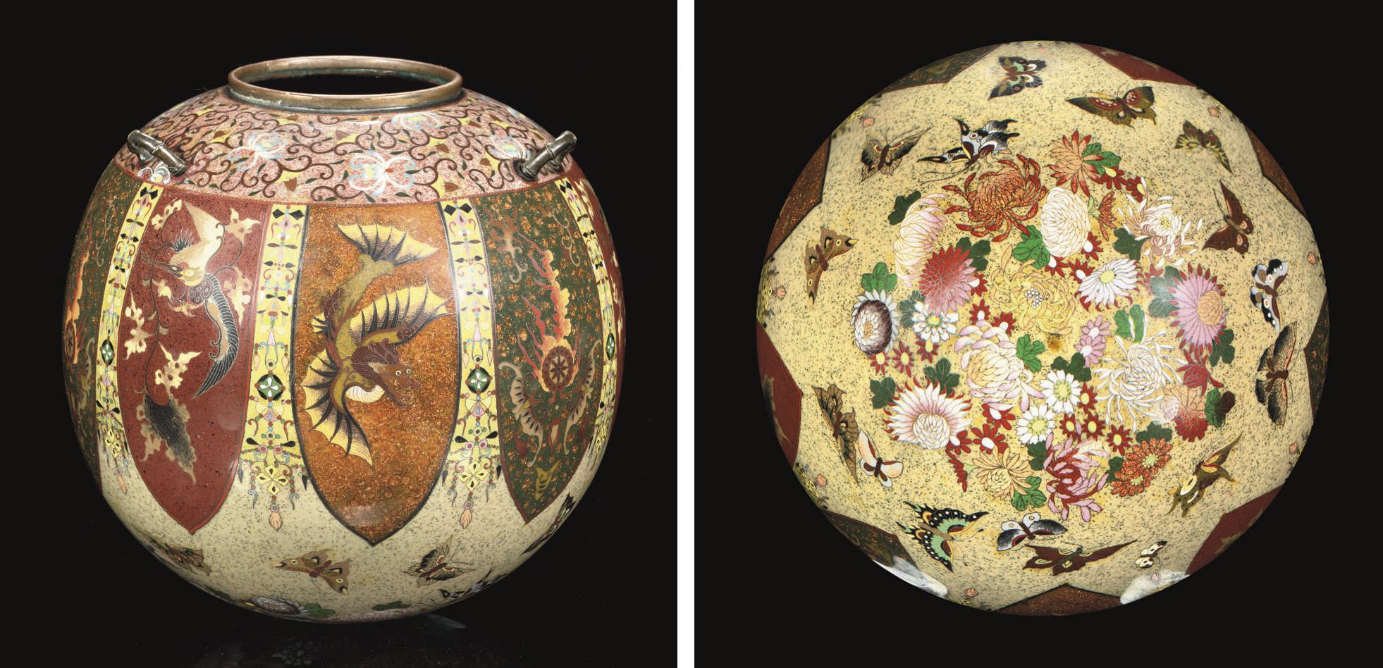 A Cloisonne Hanging Vase, Meij