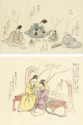 A makimono, 19th century