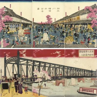 Sadahide (1807-73), Inoue Tank
