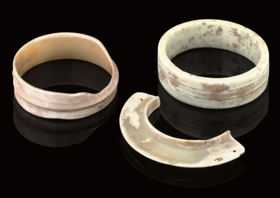 TWO RING BRACELETS, NEOLITHIC