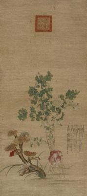 A hanging scroll, after Jiang