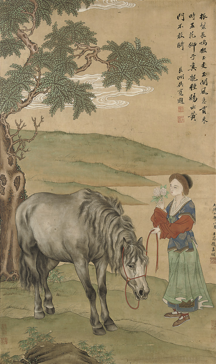 A painting, after Zhao Mengfu