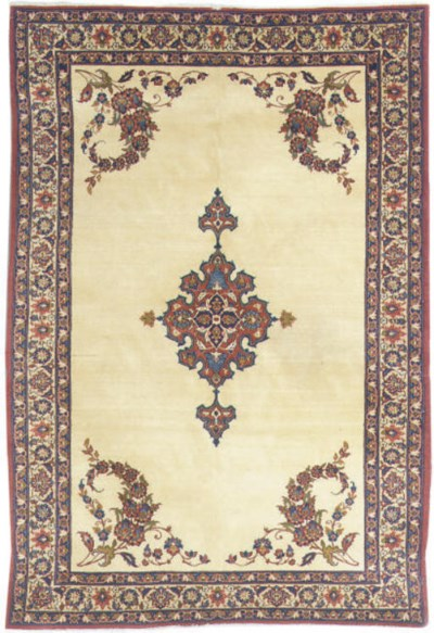 An Isfahan large rug
