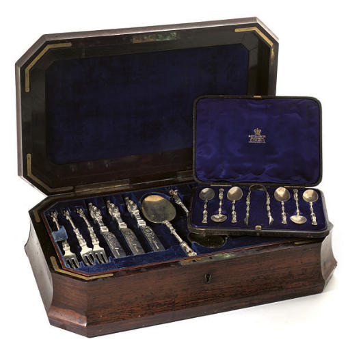 A VICTORIAN THIRTY-SIX PIECE D