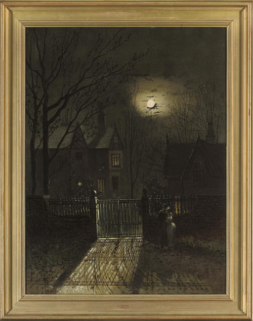 The moonlit lovers