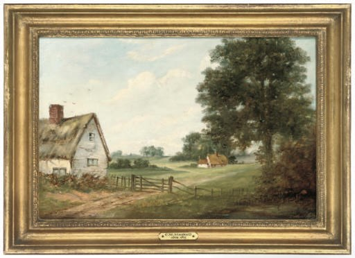 C. M. Maskell, circa 1865