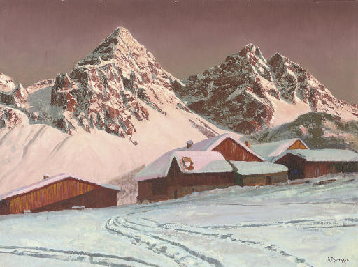 Chalets in the Tyrol