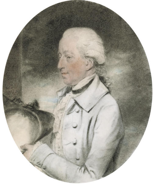 Portrait of Charles Colmore, half-length, holding a hat
