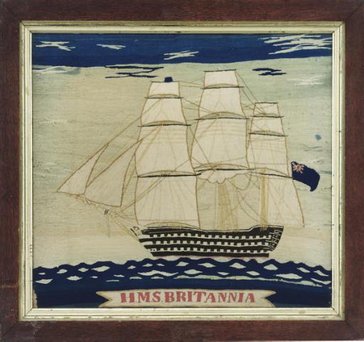 HMS BRITANNIA, A SAILOR'S WOOL