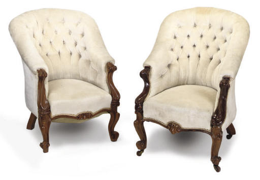 A MATCHED PAIR OF VICTORIAN WA