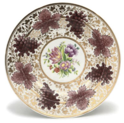 A RUSSIAN (IMPERIAL PORCELAIN