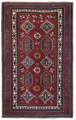 An unusual Bordjalu Kazak rug