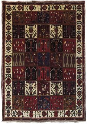 A fine Bakhtiari Garden carpet