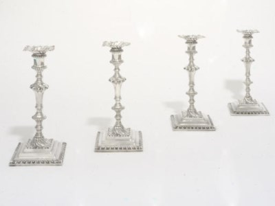 A SET OF FOUR EARLY GEORGE III