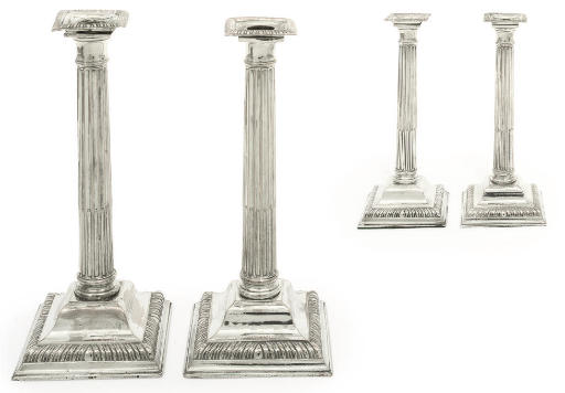 A SET OF FOUR EARLY PERIOD OLD