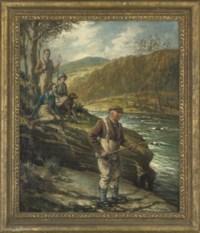 Fishing on the Russ-on-Wye