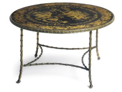 A CHINESE EXPORT LACQUERED, GI