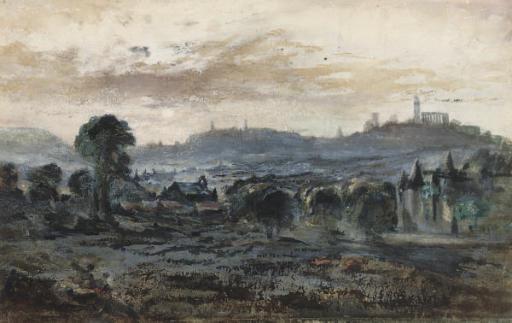 View towards Calton Hill, Edinburgh