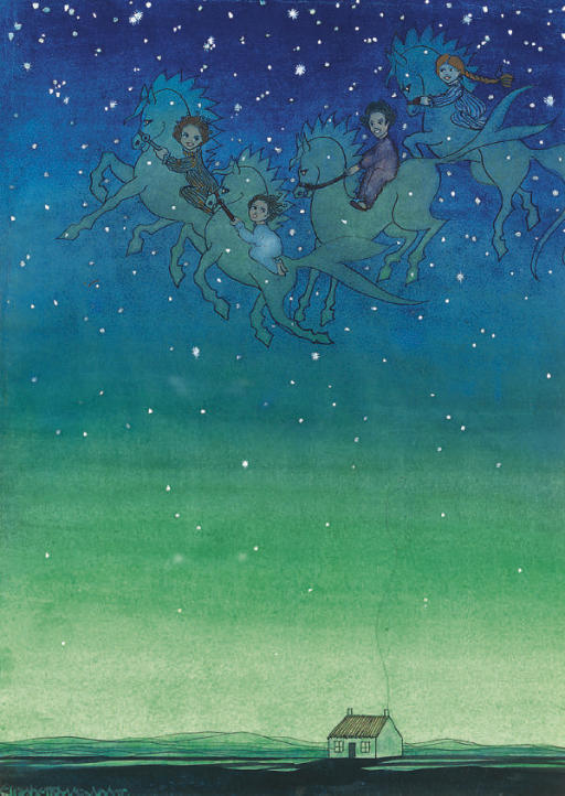 Riding with the stars