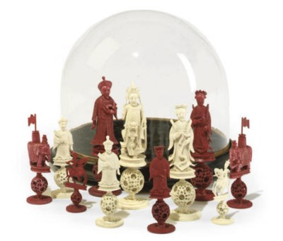 A CANTONESE IVORY PUZZLE-BALL