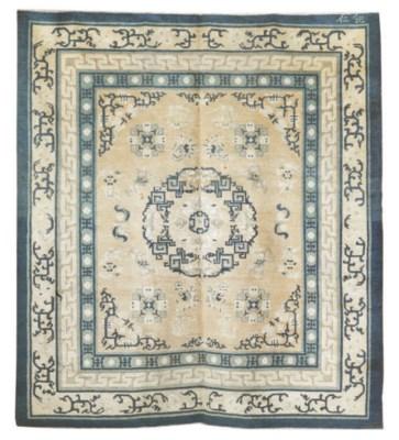 An antique Peking large rug