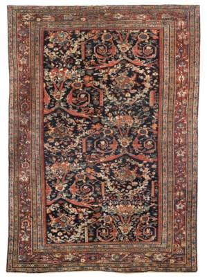 An antique Feraghan carpet & I