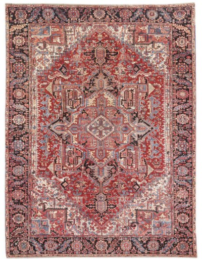 A fine Heriz carpet