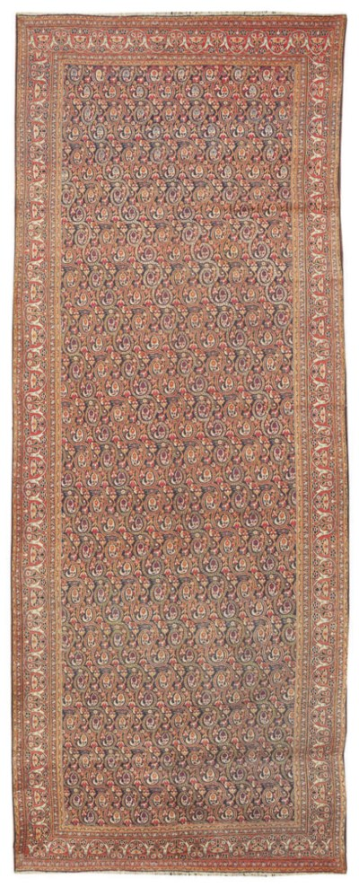 An antique Khorassan carpet