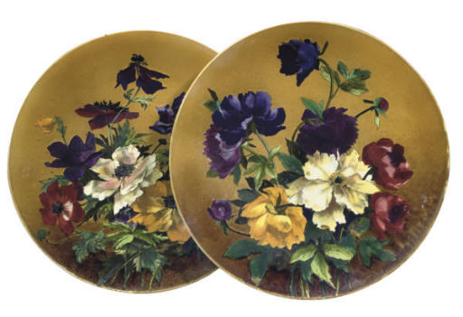 A PAIR OF VILLEROY AND BOCH (M