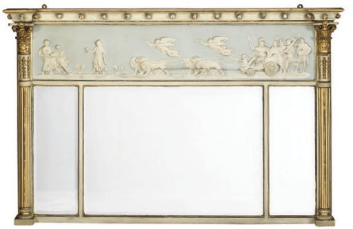 A REGENCY PAINTED AND PARCEL G