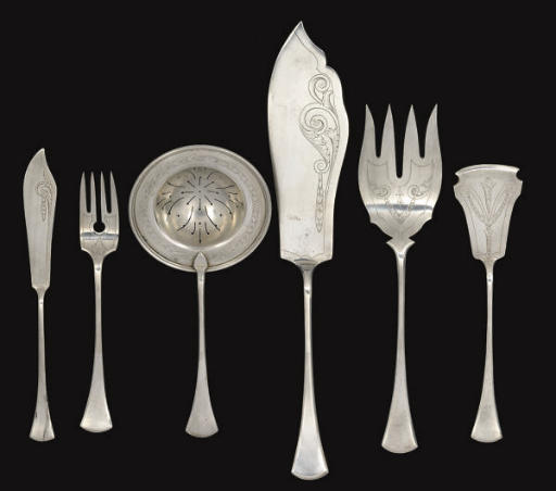 A CONTINENTAL METALWARE PART F
