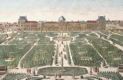 Vue d'Optique, 18th Century