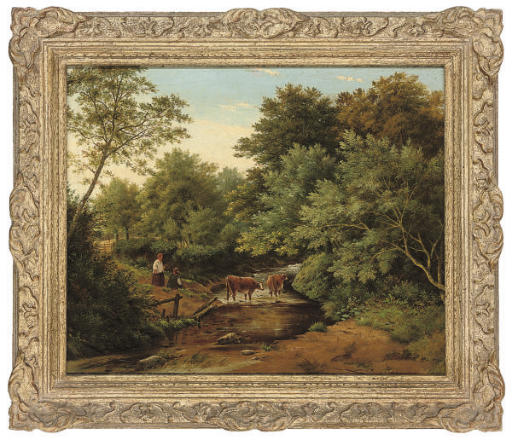 Julius Godet (British, fl.1844