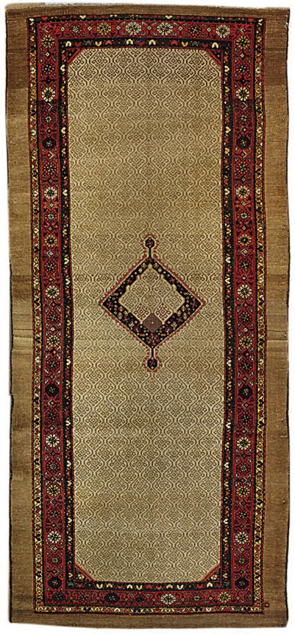 An antique Hamadan kelleh