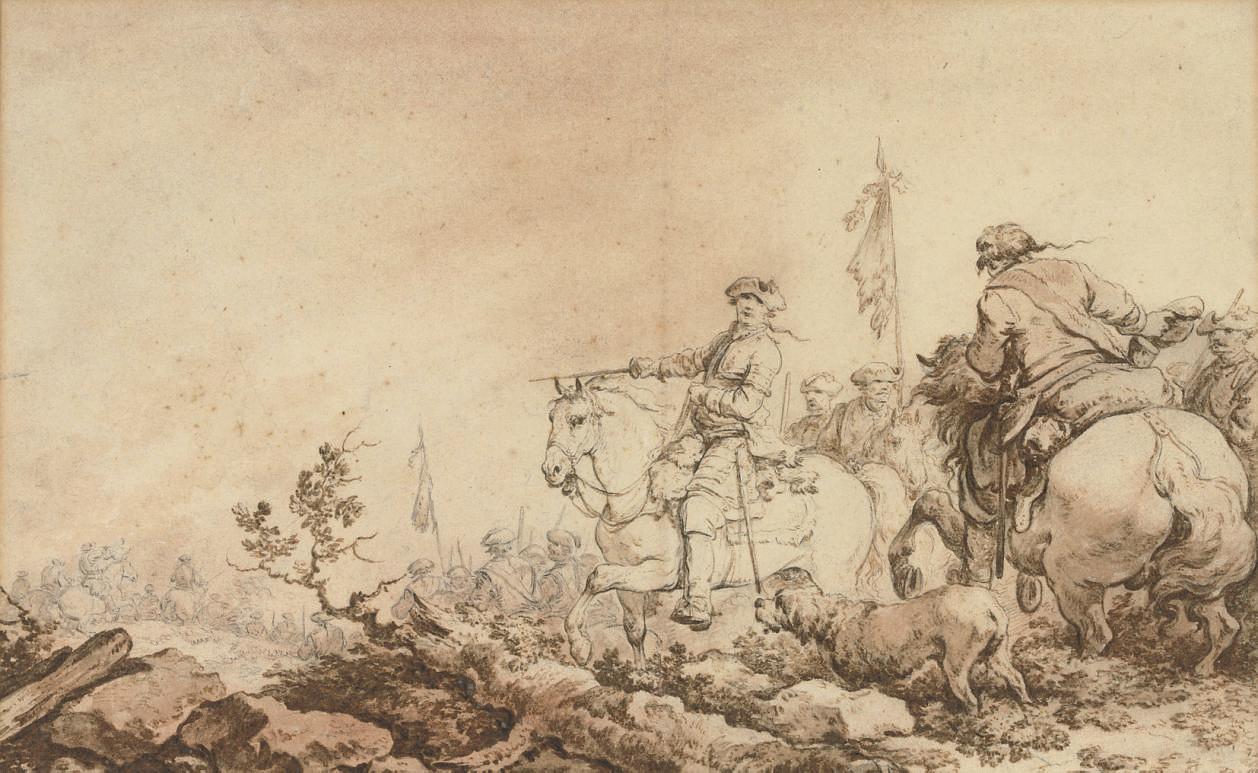 A military skirmish