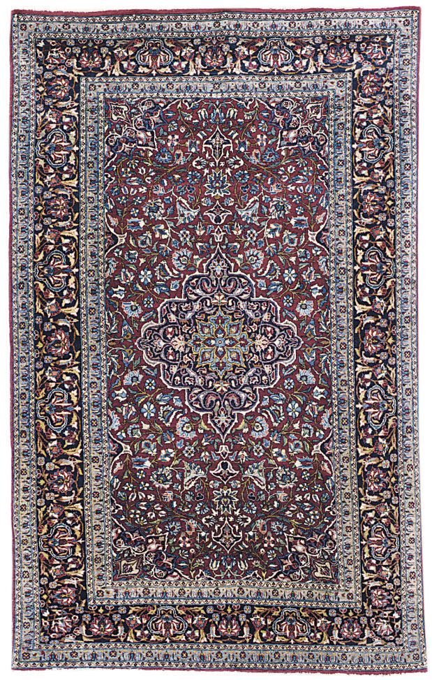 A fine Central Persian rug