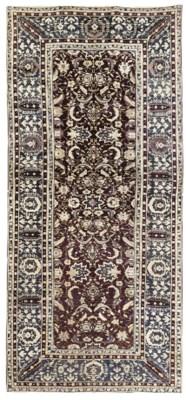An antique Agra carpet
