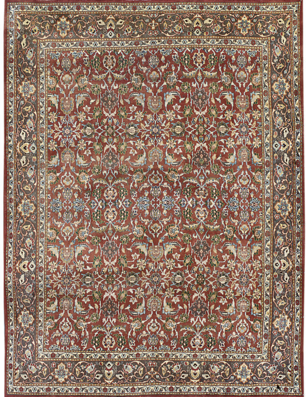 A North-East Persian carpet