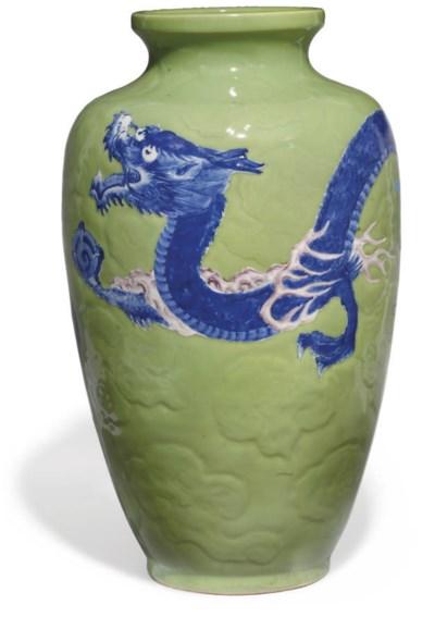 A large Japanese Vase