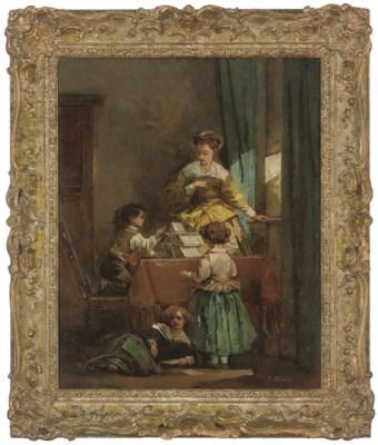Emile Lessore (FRENCH, 1805-18