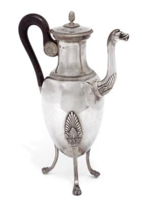 A FRENCH SILVER EMPIRE STYLE C