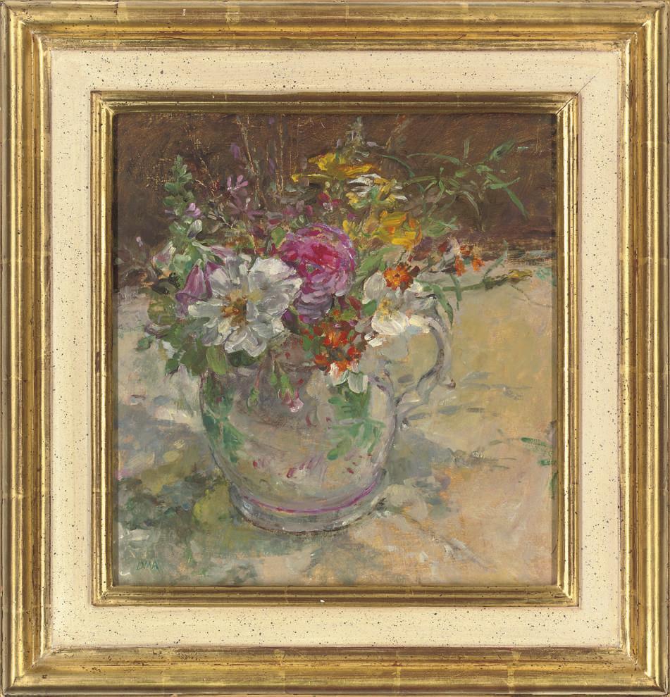 Summer flowers at Llwynhir