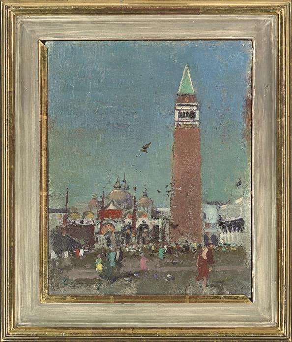The Campanile, St. Mark's Square, Venice